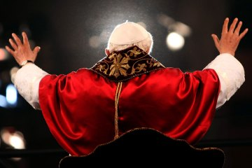 Way Of The Cross Led By Pope Benedict XVI
